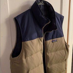 Mens Patagonia Reversible Bivy Vest